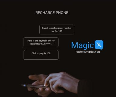 Chat Enabled Artificial Intelligence Platform MagicX