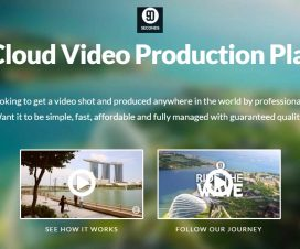 Cloud Video Production Platform - 90 Seconds