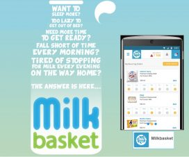 Micro Delivery Grocery eCommerce Startup - Milkbasket