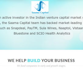 Early Stage Venture Capital Firm - Saama Capital