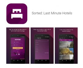 Last Minute Hotel Booking Application - Sorted