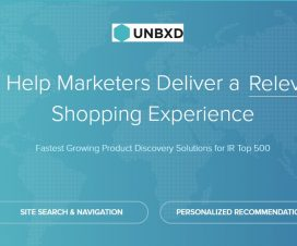 eCommerce Product Discovery Recommendation Platform - Unbxd Inc