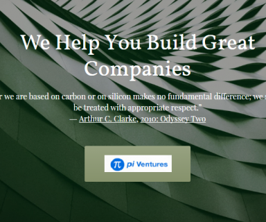 Early Stage Venture Fund - Pi Ventures