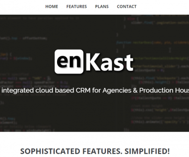 Cloud Based CRM enKast