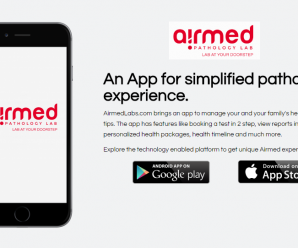 Healthcare Home Test Service Startup Airmed