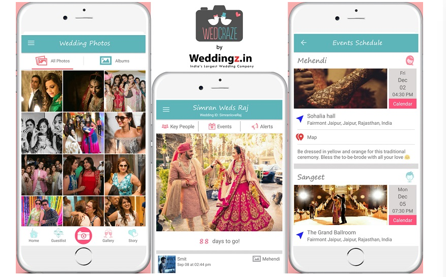 Online Wedding Planning Startup - WeddingZ