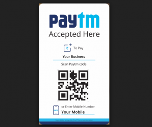 Online Payment Firm Paytm and QR Payment System