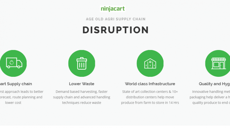 AgriMarketing Platform Ninjacart Raised US$5.5Mn From Accel Partners, Nandan Nilekani's NRJN Trust