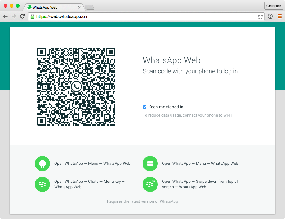 Whatsapp desktop free download joklinz-tech.